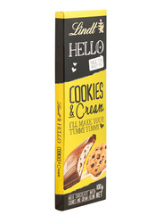 Lindt Hello Cookies and Cream Bar, 1 Piece x 100g