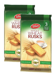 Tiffany Cardamom Whole Wheat Rusk, 2 Packets x 335g