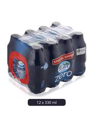 Al Ain Zero Sodium Free Drinking Water, 12 Bottles x 330ml