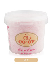 CO-OP Cherry Flavored Cotton Candy, 20g