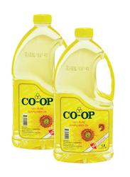 CO-OP Sunflower Oil, 2 cans x 1.8 Liter
