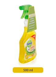 Dettol Lemon Healthy Home All Purpose Cleaner Spray, 500ml
