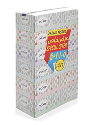 CO-OP Soft White Facial Tissues, 5 Boxes x 150 Sheets x 2 Ply