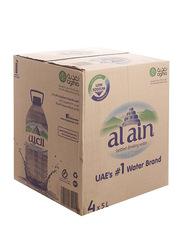 Al Ain Mineral Drinking Water, 4 Bottles x 5 Liter