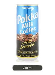 Pokka Milk Coffee Can, 240ml