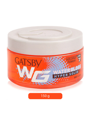 Gatsby Water Gloss Hyper Solid Hair Gel for All Hair Types, 150gm