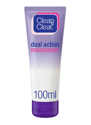 Clean & Clear Dual Action Moisturizer, 100ml