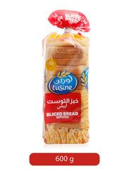 Lusine White Sliced Bread, 600g