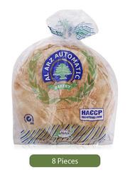 Al Arz Bakery Arabic Bread, 8 Loafs, Large
