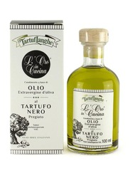Tartuflanghe Extra Virgin Olive Oil with Black Winter Truffle, 100ml