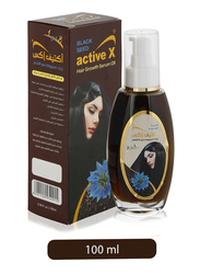 Active X Black Seed Hair Growth Serum Oil for All Hair Types, 100ml