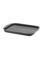 Tramontina 40cm Flat Rectangle Roasting Pan, 45.6x32.7x3.5 cm, Black