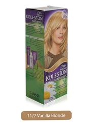 Wella Koleston Natural Hair Color Cream Semi Kit, 11/7 Blonde Attraction, 110ml