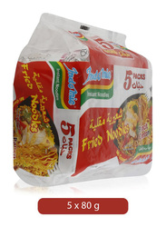 Indomie Instant Fried Noodles, 5 Packets x 80g
