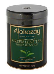 Alokozay Green Gun Powder Loose Tea Tin, 125g