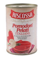 Riscossa Whole Peeled Tomatoes, 400g