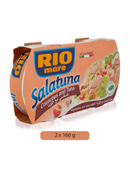 Rio Mare Vegetable and Tuna Salad, 2 Cans x 160g