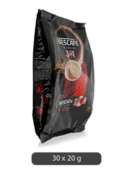 Nestle Nescafe 3-in-1 Intenso Coffee Mix, 30 Pieces x 20g