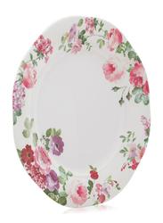 Superware 10-inch Ashley Ceramic Round Plate, Multicolor