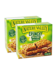 Nature Valley Oat & Honey Crunchy, 2 Boxes x 12 Bars