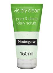 Neutrogena Visibly Clear Pore & Shine Facial Scrub, 150ml