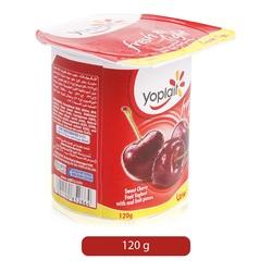 Yoplait Fruit Yoghurt Low Fat Sweet Cher 120 gram