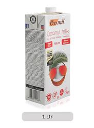 Ecomil Sugar Free Coconut Milk, 1 Liter