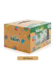 Falcon 12.5cm 100-Pieces Cake Cup Cases, White