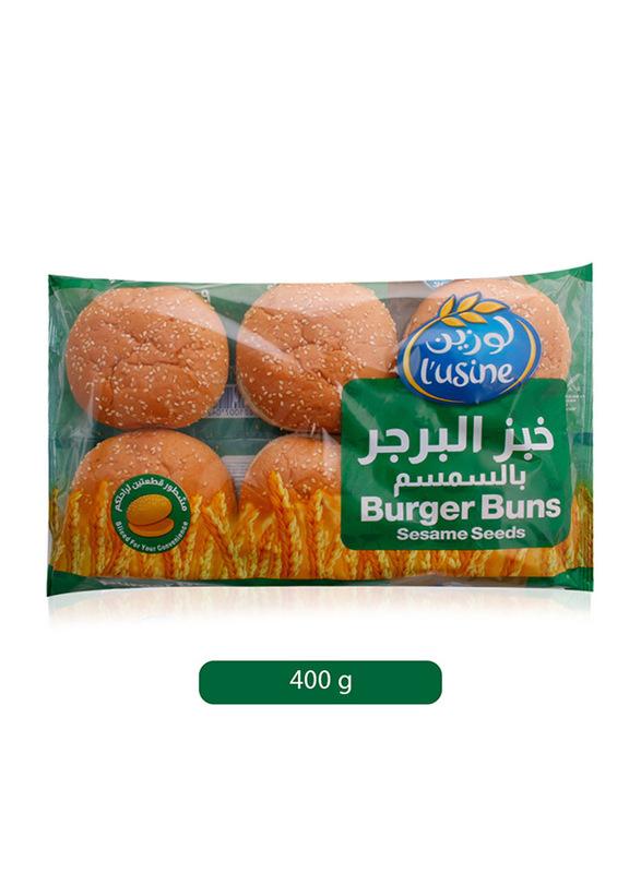 Lusine Sesame Seeds Burger Bun, 400g