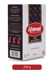 Al-Ameed Turkish Dark Coffee with Cardamom, 250g