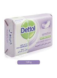 Dettol Sensitive Anti Bacterial Soap Bar, 120g