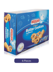Americana Premium Butter Cookies, 6 Pieces x 100g