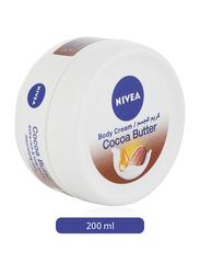 Nivea Cocoa Butter Body Cream, 200ml