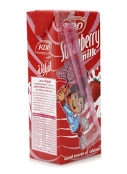 KDD Strawberry Milk, 180ml