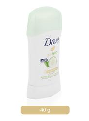 Dove Cucumber & Green Tea Antiperspirant Stick, 40g