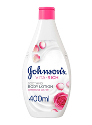 Johnson's Vita-Rich Soothing Body Lotion with Rose Water, 400ml