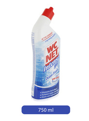 W.C Net Ocean Fresh Intense Gel Toilet Cleaner, 750ml
