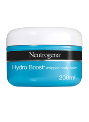 Neutrogena Hydro Boost Whipped Body Balm Gel Cream, Jar, 200ml