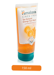 Himalaya Herbals Tan Removal Orange Face Wash, 150ml