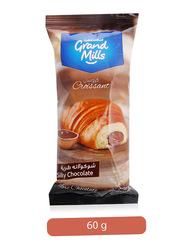 Grand Mills Silky Chocolate Croissant, 60g