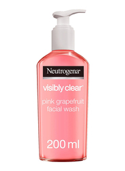 Neutrogena Visibly Clear Pink Grapefruit Facial Wash, 200ml