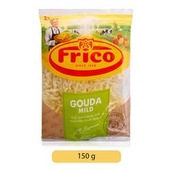 Frico Gouda Mild Shredded Cheese, 150 g