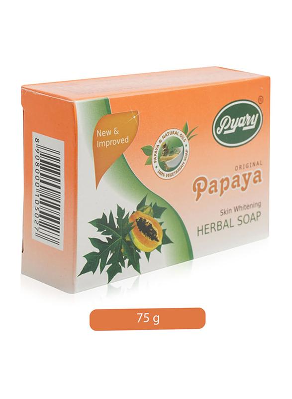 Pyary Papaya Skin Whitening Herbal Soap, 75gm | DubaiStore ...