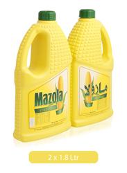 Mazola Corn Oil, 2 Tins x 1.8 Liter