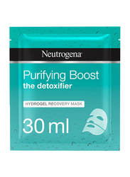 Neutrogena Purifying Boost Hydrogel Recovery Face Mask, 30ml