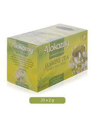 Alokozay Premium Jasmine Green Tea, 25 Tea Bags x 2g