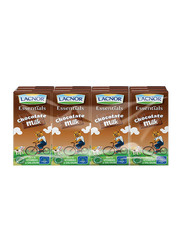 Lacnor Chocolate Milk, 12 Tins x 180ml