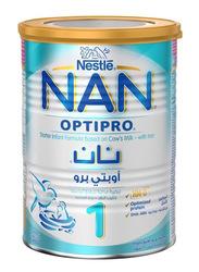 Nestle Nan Optipro Stage 1 Premium Starter Infant Formula Milk, 0-6 Months, 400g
