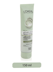 L'Oreal Paris Pure Clay Green Face Cleanser with Eucalyptus Purifies & Matifies, 150ml