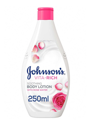 Johnson's Baby 250ml Vita-Rich Soothing Body Lotion for Kids
